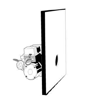 Дверь передняя котла Energylogic