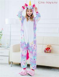 Кигуруми пижама Единорог Звездный