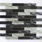 Optima Grey Мозаика серия EXCLUSIVE, чип 23*98  размер, мм: 300*300*6