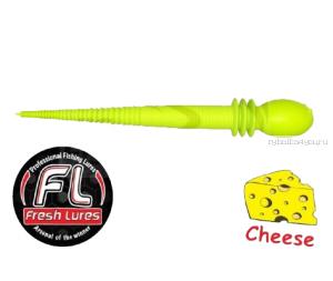 Мягкие приманки Fresh Lures Kasper 2,4'' 60 мм / 1 гр / упаковка 10 шт / цвет: 112  / сыр