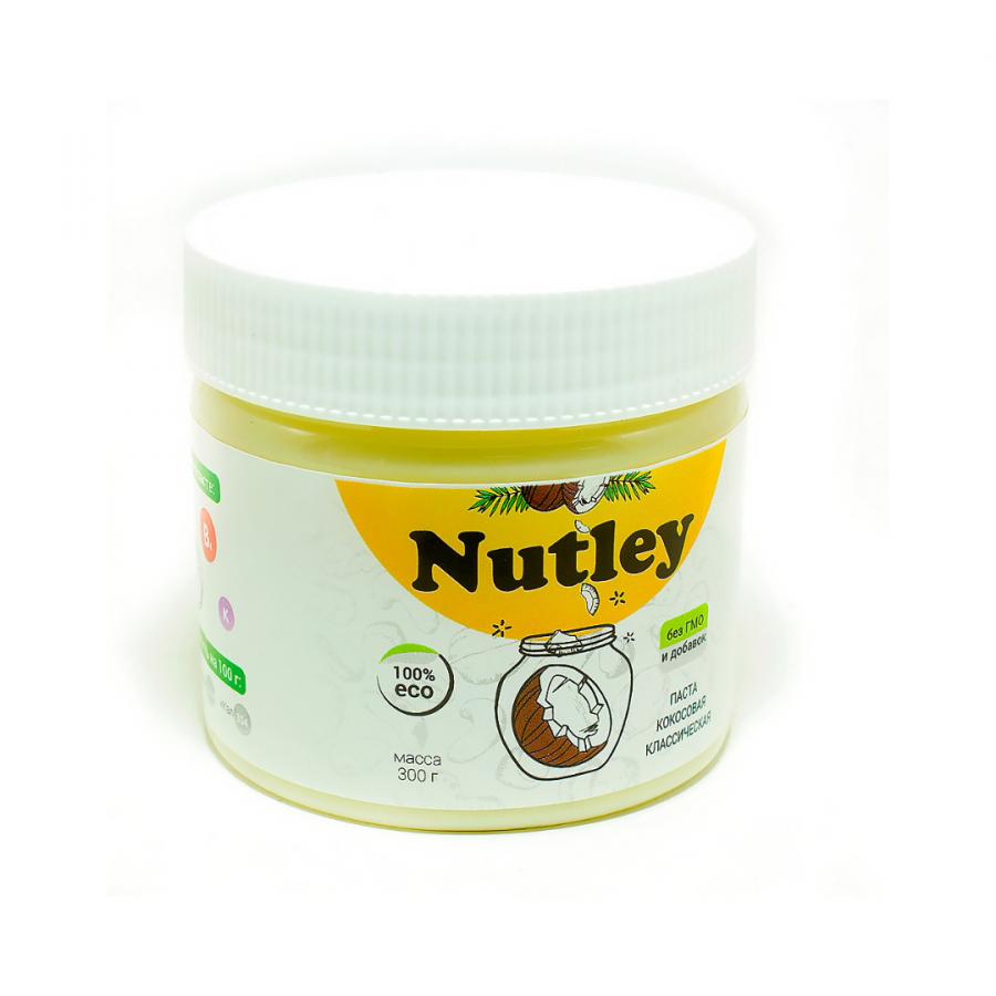 Кокосовая паста Nutley классическая, 300г