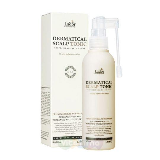 La'dor Тоник для кожи головы против выпадения волос Dermatical Scalp Tonic, 120 мл