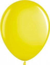 """Шар (12""""/ 30 см, жёлтый, металлик, 100 шт"""