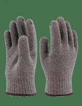 Перчатки полушерстяные Зима с ПВХ. Спец-SB.