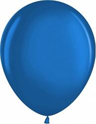 """Шар (12""""/ 30 см, синий, металлик, 100 шт"""