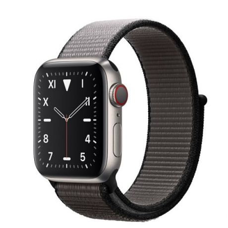 Apple Watch Edition Series 5 Titanium Case 44mm GPS + Cellular Anchor/Gray with Sport Loop