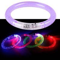 Светящийся браслет, цвет фиолетовый