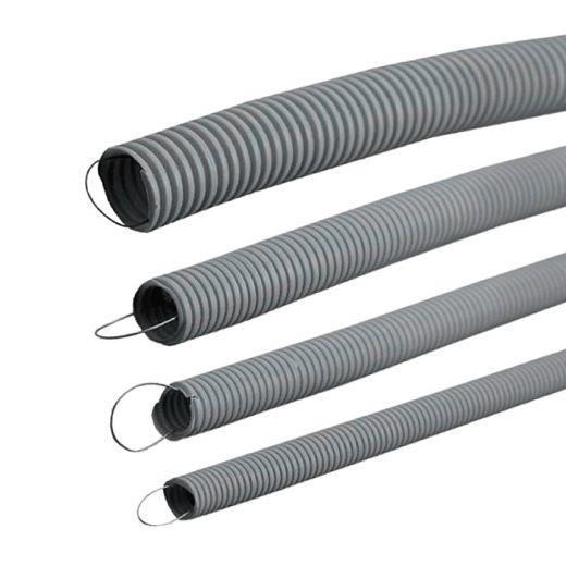 Труба гофрированная Пан-Электро Ф32 25м ПВХ