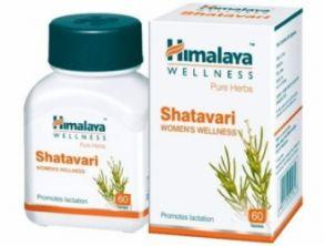 Шатавари - Женская половая система, SHATAVARI, Himalaya  60 капсул
