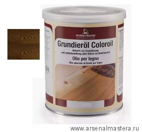 Масляное покрытие для полов и  паркета Borma Grundierol 1л цв.8 дуб табак R3910-8