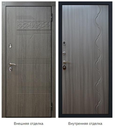 Стальная дверь «Виктория» (заказная)