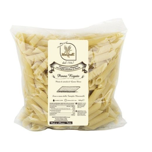 Паста Пенне Ригате Пастифичио Машиарелли 500 гр., Penne Rigate Pastificio Masciarelli 500 gr