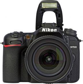 Nikon D7500 Kit 18-55mm f/3.5-5.6G AF-S VR DX Zoom-Nikkor