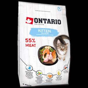 Ontario Для котят с лососем (Ontario Kitten Salmon) 400 гр