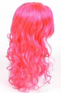 Парик длинный (розовый)