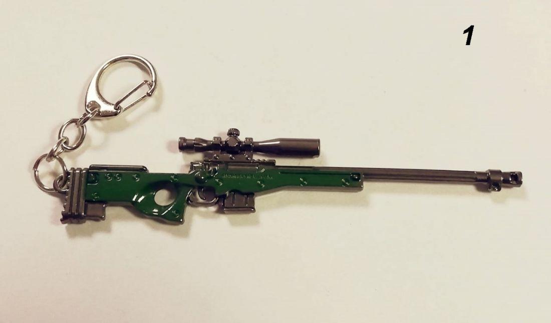 Брелок винтовка с прицелом