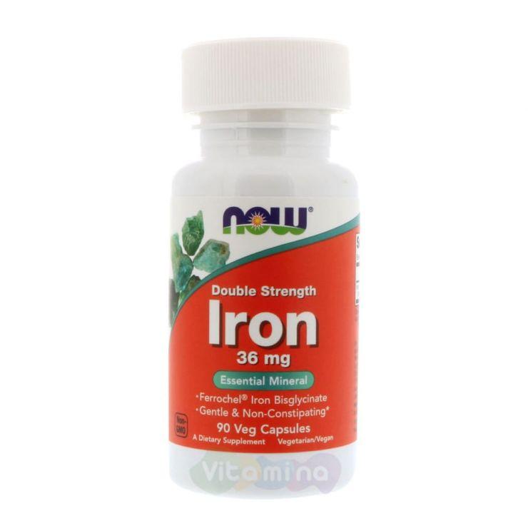Iron (Железо двойной силы) 36 мг, 90 капс.