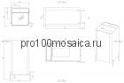 NSF-47420 Раковина из POLYSTONE (акриловый камень) размер,мм: 476*420*900 (NS BATH)