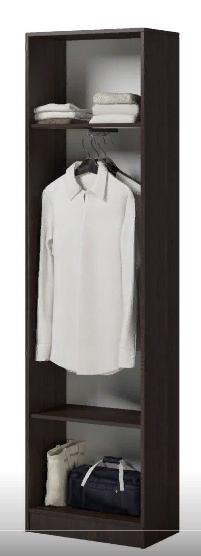 Enter (ПР) Шкаф для одежды Венге/Дуб Молочный