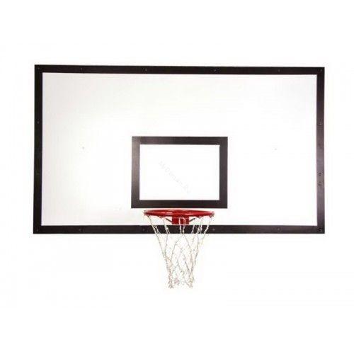 Щит баскетбольный игровой 1050х1800 мм ФАНЕРА (толщина фанеры 15 мм) на металлокаркасе пристенны