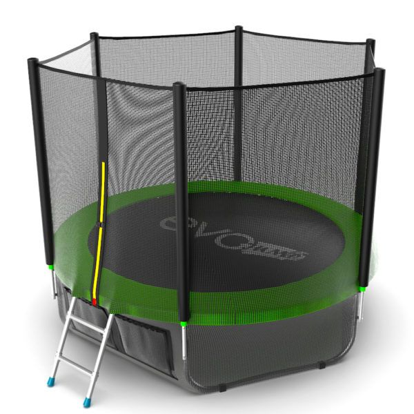 EVO JUMP External 8ft (Green) + Lower net