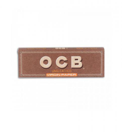 Сигаретная бумага OCB Unbleached Virgin Paper 69*36 (50 шт)