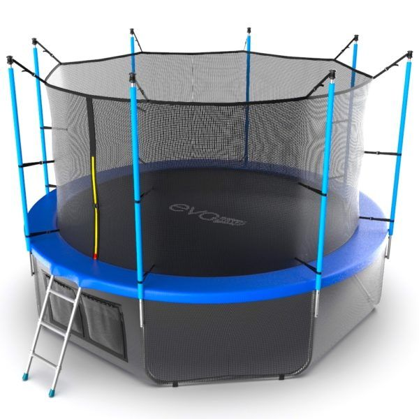 EVO JUMP Internal 12ft (Blue) + Lower net