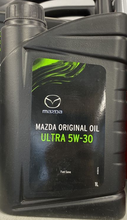 Моторное масло Mazda Original Oil Ultra 5W-30 1 л