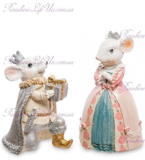 Фигурки крысы король и королева