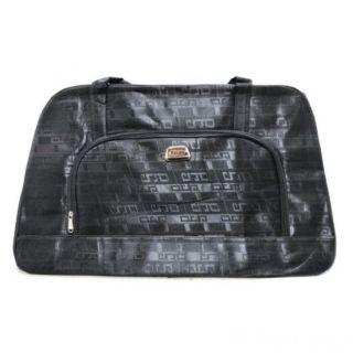 Дорожная сумка Саквояж, 62х21х37 см, Цвет: Чёрный