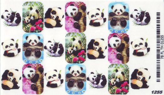 СЛАЙДЕР 1255 веселые панды