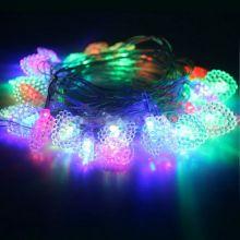 Электрическая светодиодная гирлянда Клубничка