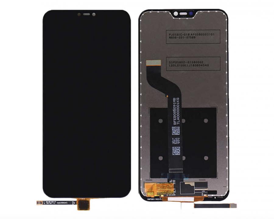LCD (Дисплей) Xiaomi Mi A2 Lite/Redmi 6 Pro (в сборе с тачскрином) (black) Оригинал