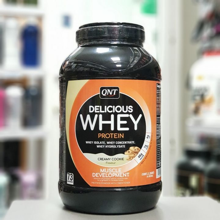 QNT - Delicious Whey Protein (2,2кг)
