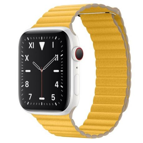 Apple Watch Edition Series 5 White Ceramic Case 44mm GPS + Cellular Meyer/Lemon with Leather Loop