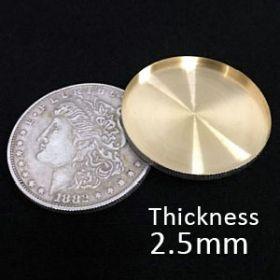 Оболочка Shell Morgan Dollar серебро - Expanded Shell Super Morgan Dollar (2.5mm, Copper)