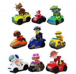 Игровой набор игрушек из 9 героев с машинками  Секретная миссия Джунгли (Щенячий патруль)