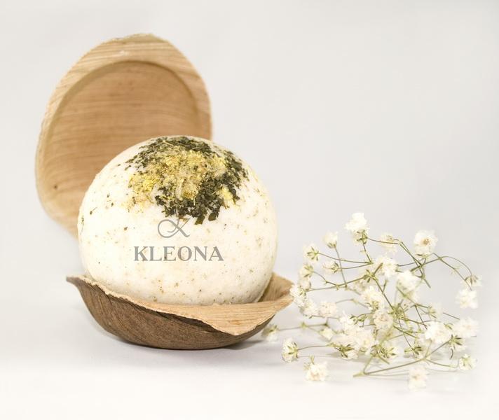 Бурлящий шар «Травяной венок»
