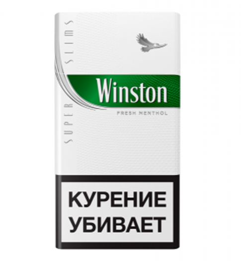 WINSTON Super Slims Fresh Menthol