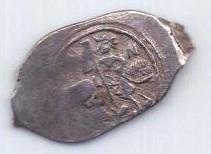деньга 1389 -1425 года AUNC Василий l Дмитриевич