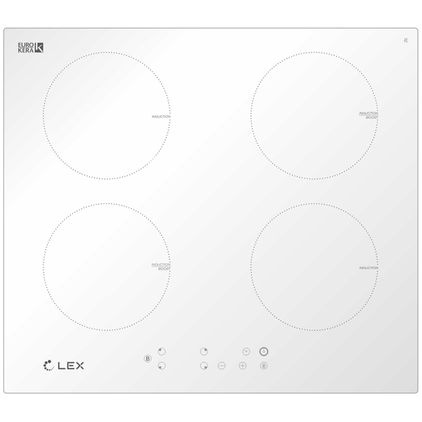 Индукционная варочная панель LEX EVI 640-1 WH (CHYO000182)