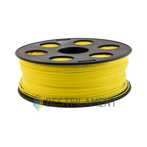 ABS пластик Bestfilament 1,75 мм, Желтый, 1 кг