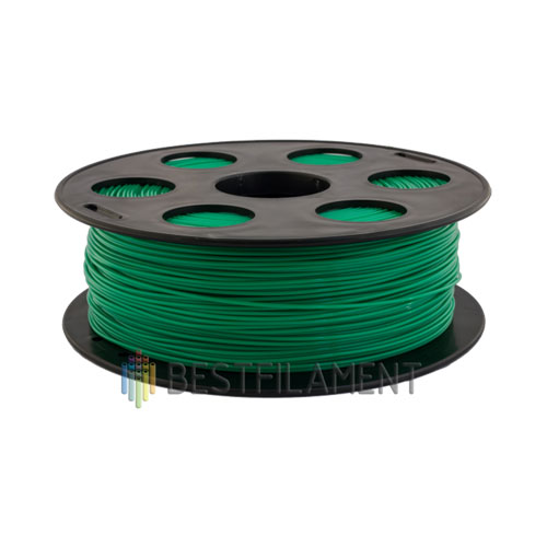 PETG пластик Bestfilament 1,75 мм, Зеленый, 1 кг