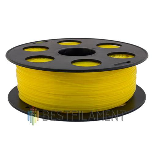 PLA пластик Bestfilament 1,75 мм, Желтый, 1 кг