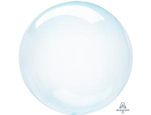 Голубая хрустальная сфера с гелием