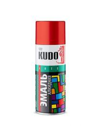 """Краска аэрозоль  металлик хром  520 мл """"Kudo"""" KU-1027"""
