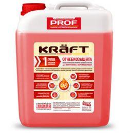 Огнебиозащита KRAFT 1 группа (красная) 20 л.