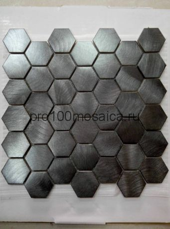AL33. Мозаика серия Металл соты  размер, мм: 280*300*7 (Happy Mosaic)