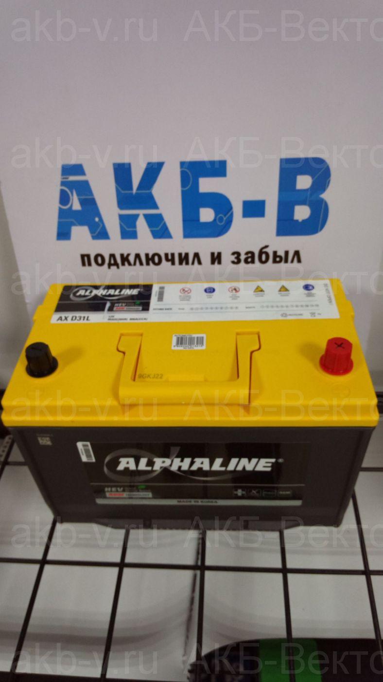 ПОД ЗАКАЗ AlphaLINE AGM AX 31-800 уни 90Ач 800А(EN)