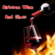 Левитация бокала вина - Airborne Wine And Glass
